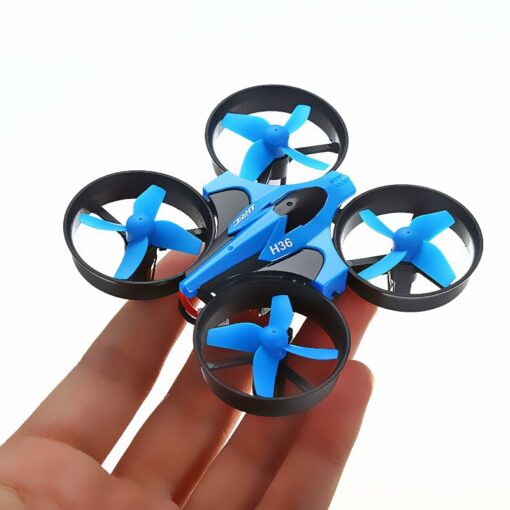 JJRC H36 RC Mini Drone Helicopter 4CH Toy Quadcopter Drone Headless 6Axis One Key Return 360 1