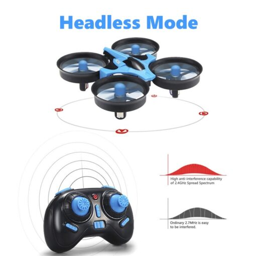 JJRC H36 RC Mini Drone Helicopter 4CH Toy Quadcopter Drone Headless 6Axis One Key Return 360 3