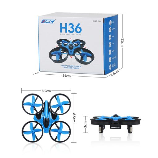 JJRC H36 RC Mini Drone Helicopter 4CH Toy Quadcopter Drone Headless 6Axis One Key Return 360 5