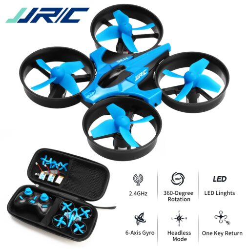 JJRC H36 RC Mini Drone Helicopter 4CH Toy Quadcopter Drone Headless 6Axis One Key Return 360