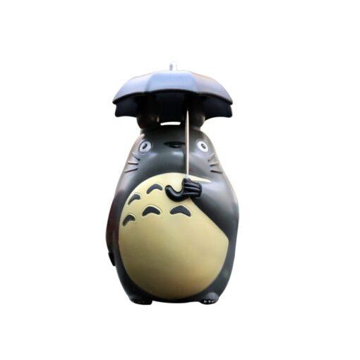 Japan Miyazaki Umbrella Totoro Doll Garage Kit Car Decoration Three Piece Desktop Car Interior Decoration Gift 4