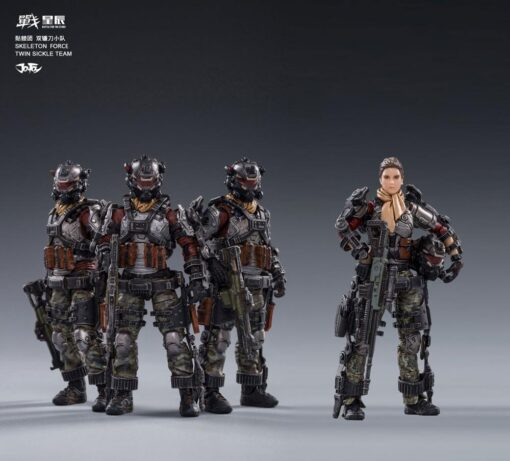 JoyToy 1 18 3 75 inch Male Female Soldier Action Figures All In Stock Now 1