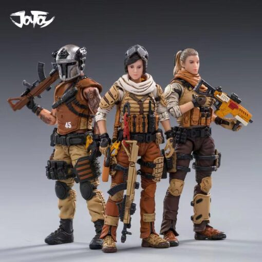 JoyToy 1 18 3 75 inch Male Female Soldier Action Figures All In Stock Now 2