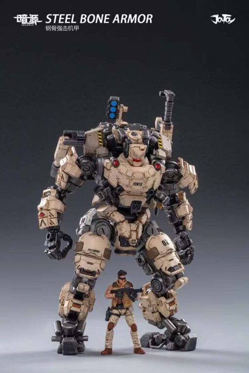 JoyToy 1 25 Steel Bone Robot Model Driver Action Figure All in here All In Stock 1