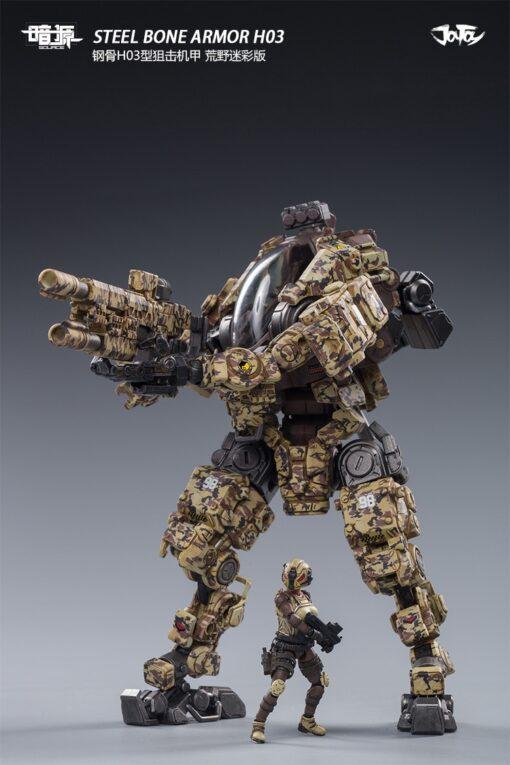 JoyToy 1 25 Steel Bone Robot Model Driver Action Figure All in here All In Stock 2