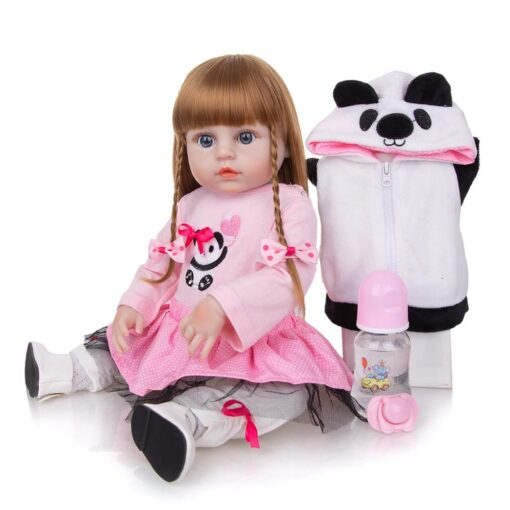 KEIUMI Newest 19 Inch Reborn Babies Doll Realistic Lovely Bebe Reborn Toodler Bath Toy For Kids 3