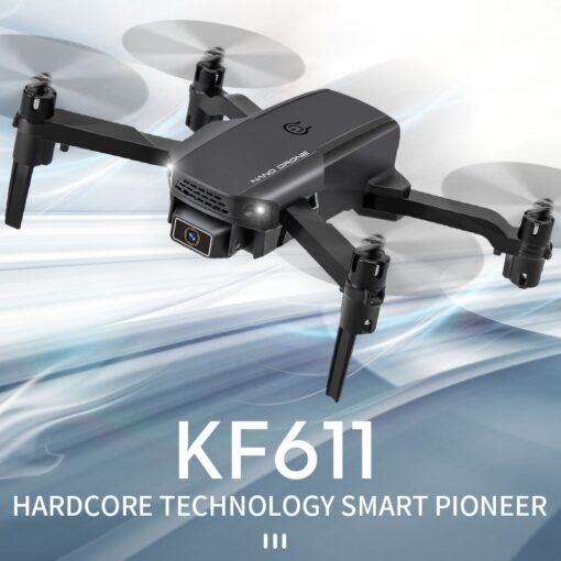 KF611 Mini Drone 4K HD Camera WIFI FPV Selfie Quadcopter Headless Mode Drone Toy With Track