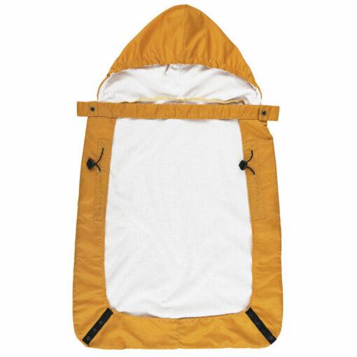 Kid Backpack Infant Baby Carrier Wrap Comfort Sling Winter Warm Cover Cloak Blanket Patchwork String Adjust 4