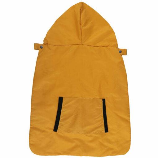 Kid Backpack Infant Baby Carrier Wrap Comfort Sling Winter Warm Cover Cloak Blanket Patchwork String Adjust 5