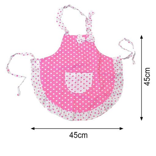 Kid Children Chef Cooking Butterfly Apron Baking Kitchen Craft Painting Set 3
