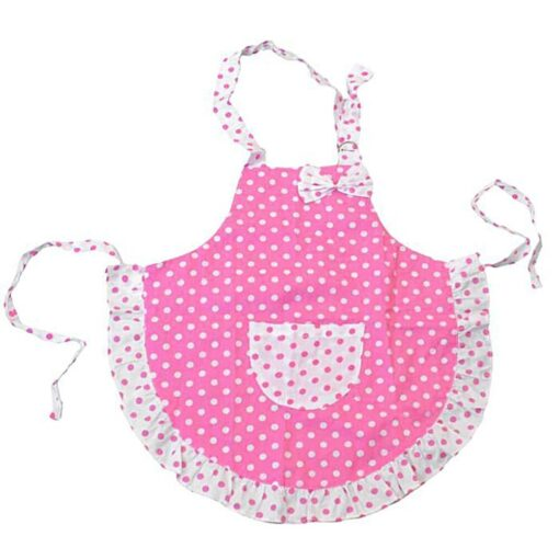 Kid Children Chef Cooking Butterfly Apron Baking Kitchen Craft Painting Set
