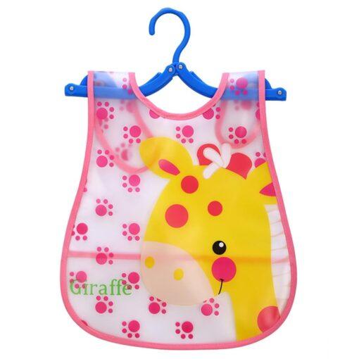 Kids Cute Bibs Infant Bibs Baby Soft Kawaii Cartoon Animal Bib Waterproof Saliva Dripping Bibs Silicone 1
