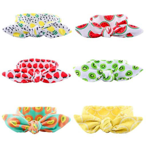 Kids Headband Bow For Girl Rabbit Ear Hairbands Turban Knot Kids Turbans Accessoire Faixa Cabelo Para 1