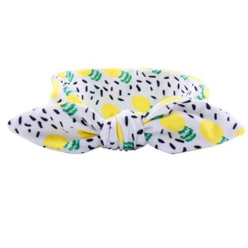 Kids Headband Bow For Girl Rabbit Ear Hairbands Turban Knot Kids Turbans Accessoire Faixa Cabelo Para 2