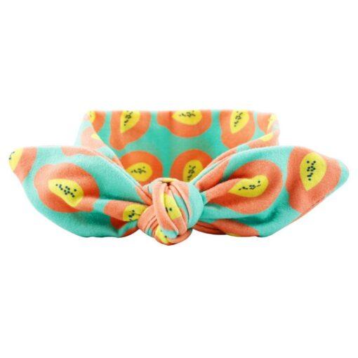 Kids Headband Bow For Girl Rabbit Ear Hairbands Turban Knot Kids Turbans Accessoire Faixa Cabelo Para 5