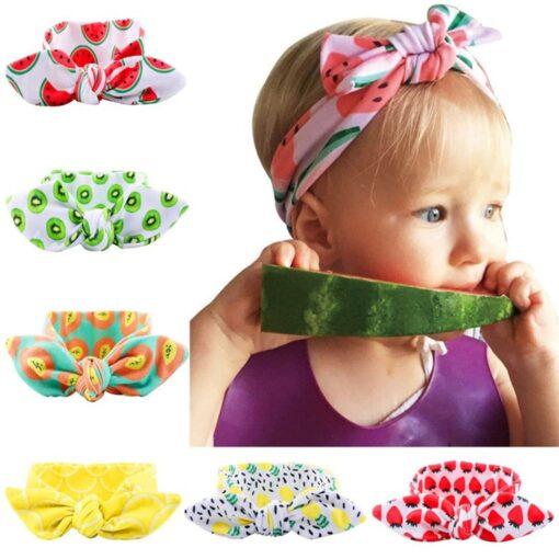 Kids Headband Bow For Girl Rabbit Ear Hairbands Turban Knot Kids Turbans Accessoire Faixa Cabelo Para