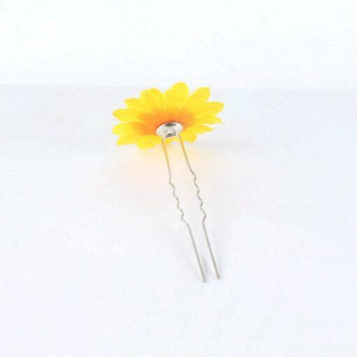 Kids Headwear Flower Princess Headwear Baby Headdress Girls Hair Accessories Sun Flower Hairpin Bride Bridal Hair 2