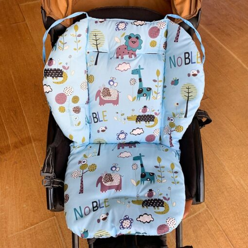 Kids Pushchair Car Cart High Chair Seat Trolley Soft Mattress Baby Stroller Cushion Pad For Carriage 4