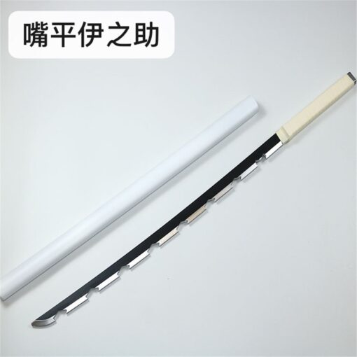 Kimetsu no Yaiba Sword Weapon Demon Slayer Satoman Tanjiro Cosplay Sword 1 1 Anime Ninja Knife 2