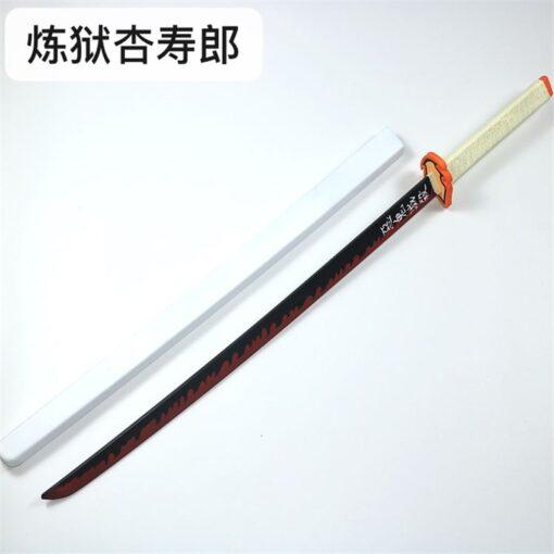 Kimetsu no Yaiba Sword Weapon Demon Slayer Satoman Tanjiro Cosplay Sword 1 1 Anime Ninja Knife 3