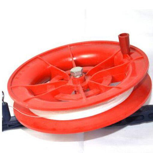 Kite Wheel line length 100M 50M Twisted String Line Red Wheel Kite Reel Winder Flying Toys 4