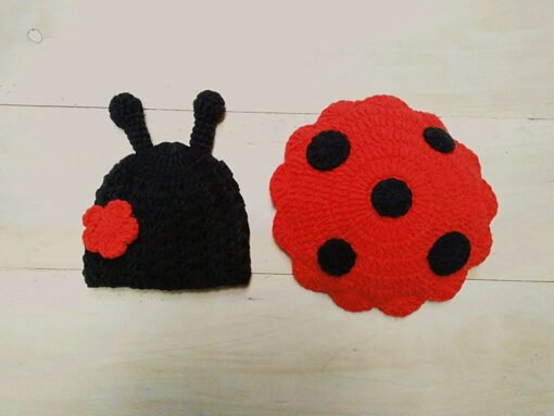 Knit Crochet Hats Newborn Baby Cute Insects Clothes Costume Photo Photography Props Lively Hats Set gorros 1