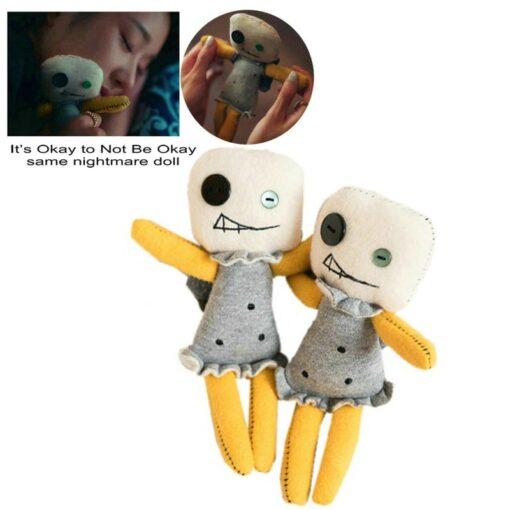 Korea Hot Drama It s Okay to Not Be Okay Same Nightmare Doll Toys Stuffed Horror 6