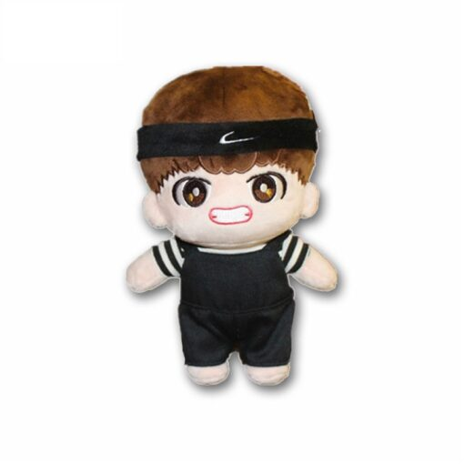 Korea Kawaii Plush Dolls Toy Cartoon Stuffed Doll With Clothes PP Cotton Cute Soft Dolls Collection 1
