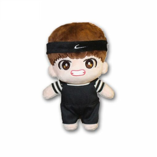 Korea Kawaii Plush Dolls Toy Stuffed Doll With Clothes Cute PP Cotton Soft Dolls Collection Fans 1