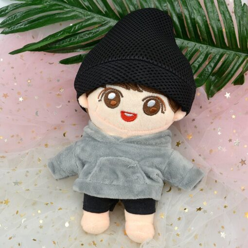 Korea Kawaii Plush Dolls Toy Stuffed Doll With Clothes Cute PP Cotton Soft Dolls Collection Fans 5