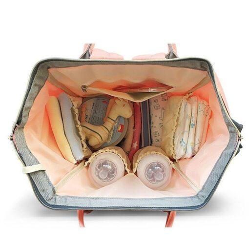 LAND Update Mummy Maternity Napyy Bag Brand Large Capacity Baby Bag Travel Backpack Desiger Nursing Bag 1