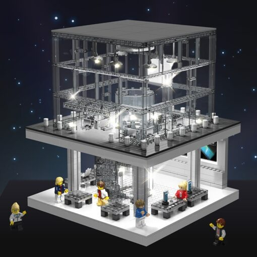 LED Light Toy Expert Street view Apple Store Building Blocks Bricks Sets Model Classic Phone Compatible 4