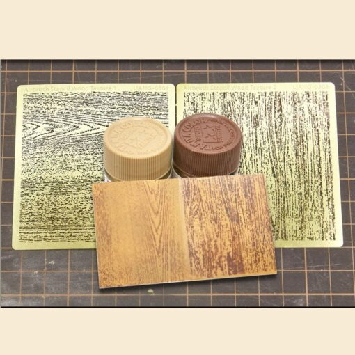 LIANG 0301 0302 Airbrush Stencil Wood Texture for 1 32 1 35 1 48 Scale Parts 2