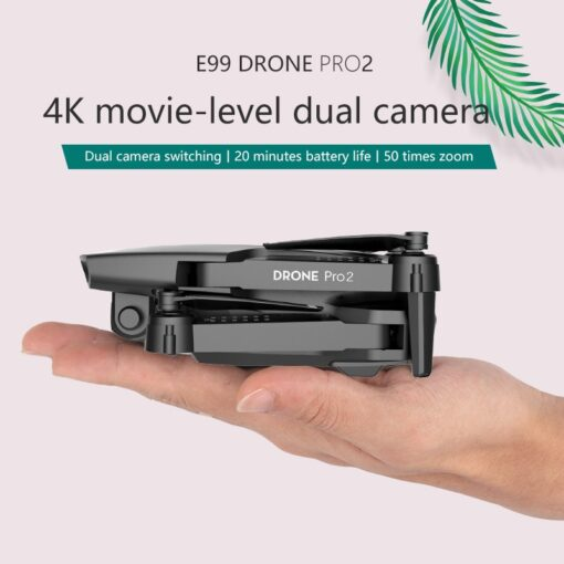 LSKJ E99 Pro2 RC Mini Drone 4K HD Dual Camera WIFI FPV Professional Aerial Photography Helicopter 2