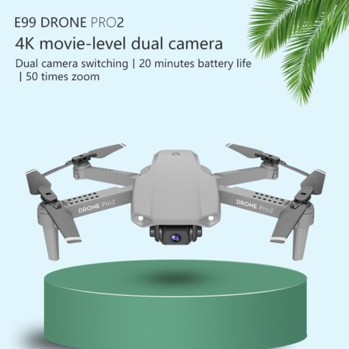 LSKJ E99 Pro2 RC Mini Drone 4K HD Dual Camera WIFI FPV Professional Aerial Photography Helicopter 3
