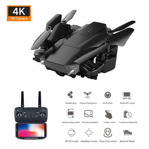 LSRC 2020 E68pro Mini DroneWiFi 2 4G RC Drone 4K HD Dual Camera Quadcopter FPV Foldable 2