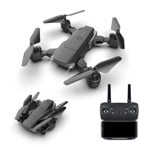 LSRC 2020 E68pro Mini DroneWiFi 2 4G RC Drone 4K HD Dual Camera Quadcopter FPV Foldable 3