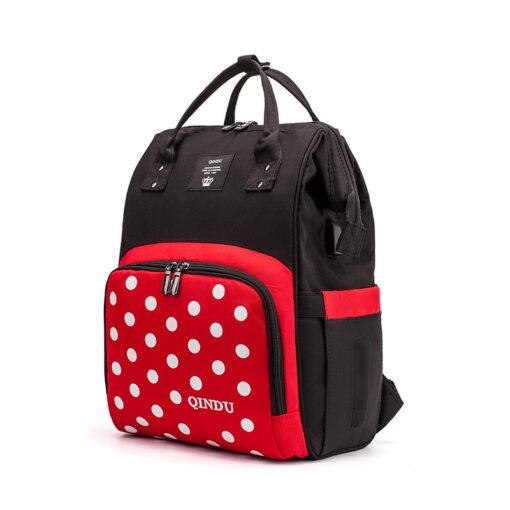 Large Capacity Diaper Bag Baby Backpack Multifunction Travel Packet Maternity Newborn Nappy Changing Bags Waterproof and 1
