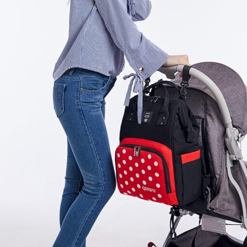Large Capacity Diaper Bag Baby Backpack Multifunction Travel Packet Maternity Newborn Nappy Changing Bags Waterproof and 4