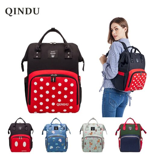 Large Capacity Diaper Bag Baby Backpack Multifunction Travel Packet Maternity Newborn Nappy Changing Bags Waterproof and