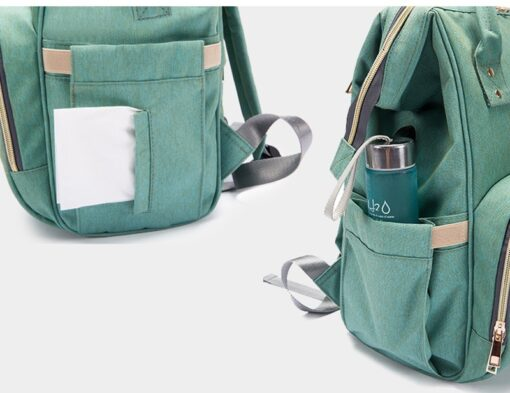 Large Capacity Diaper Bag Backpack Waterproof Maternity Bag Baby Diaper Bags With USB Interface Mummy Travel 4