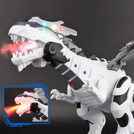 Large Spray Mechanical Dinosaurs With Wing Cartoon Electronic Walking Animal Model Dinosaurio juguete Robot Pterosaurs Kids 2