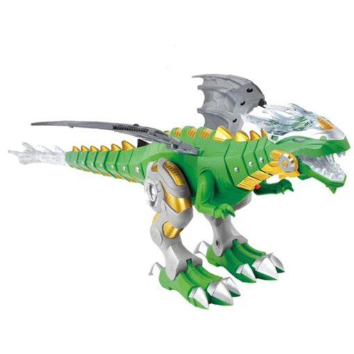 Large Spray Mechanical Dinosaurs With Wing Cartoon Electronic Walking Animal Model Dinosaurio juguete Robot Pterosaurs Kids 3