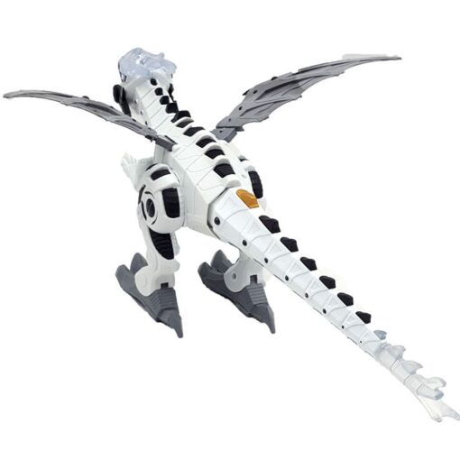 Large Spray Mechanical Dinosaurs With Wing Cartoon Electronic Walking Animal Model Dinosaurio juguete Robot Pterosaurs Kids 5