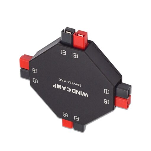 Latest version WINDCAMP AP 4 30A POWERPOLE SPLITTER 4 CH power supply Distributor HAM Radio 1
