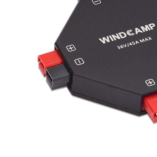 Latest version WINDCAMP AP 4 30A POWERPOLE SPLITTER 4 CH power supply Distributor HAM Radio 2