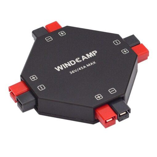 Latest version WINDCAMP AP 4 30A POWERPOLE SPLITTER 4 CH power supply Distributor HAM Radio 3