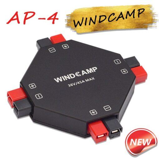 Latest version WINDCAMP AP 4 30A POWERPOLE SPLITTER 4 CH power supply Distributor HAM Radio