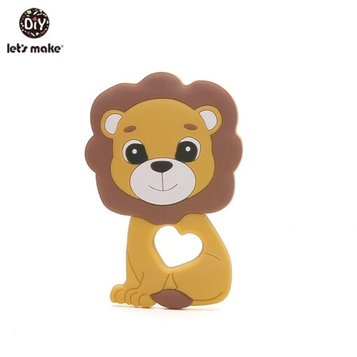 Let S Make 1Pc Silicone Baby Teether Toddler Toys Diy Stroller Accessories For Pacifier Chain Owl 2