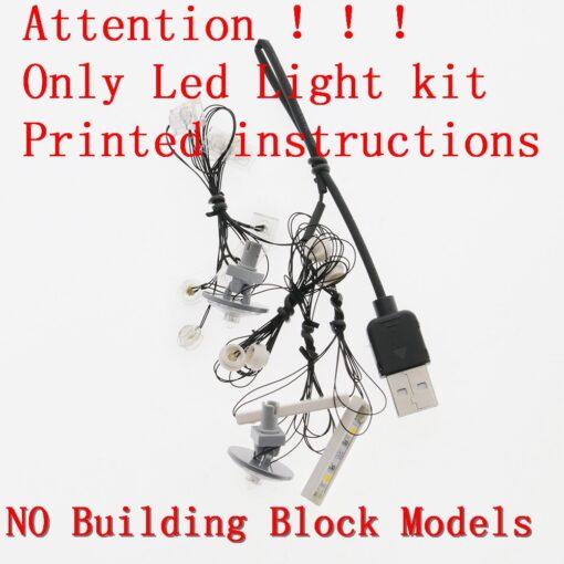 Lightaling Led Light Kit For Technic Landrover Defender Vehicles Toy Building Blocks Compatible With 42110 Lighting 2
